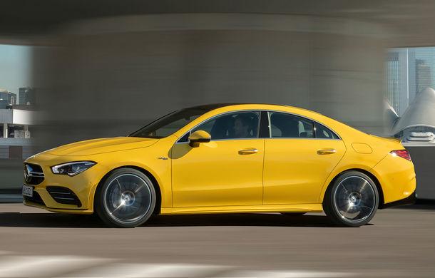 Mercedes a prezentat noul AMG CLA 35: aspect mai agresiv și motor de 2.0 litri cu 306 CP - Poza 1