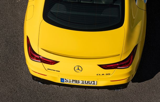 Mercedes a prezentat noul AMG CLA 35: aspect mai agresiv și motor de 2.0 litri cu 306 CP - Poza 22