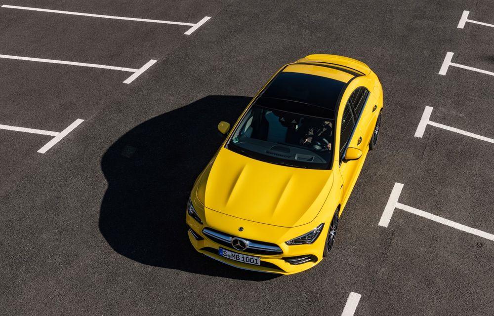 Mercedes a prezentat noul AMG CLA 35: aspect mai agresiv și motor de 2.0 litri cu 306 CP - Poza 17