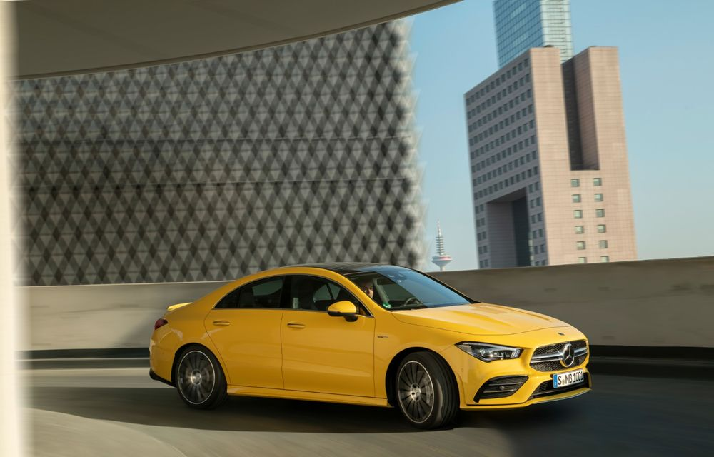 Mercedes a prezentat noul AMG CLA 35: aspect mai agresiv și motor de 2.0 litri cu 306 CP - Poza 4