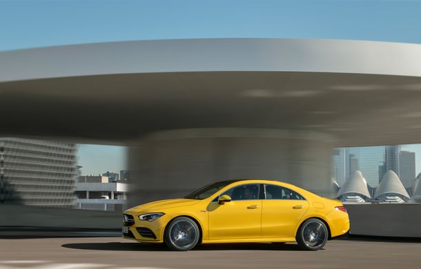 Mercedes a prezentat noul AMG CLA 35: aspect mai agresiv și motor de 2.0 litri cu 306 CP - Poza 8