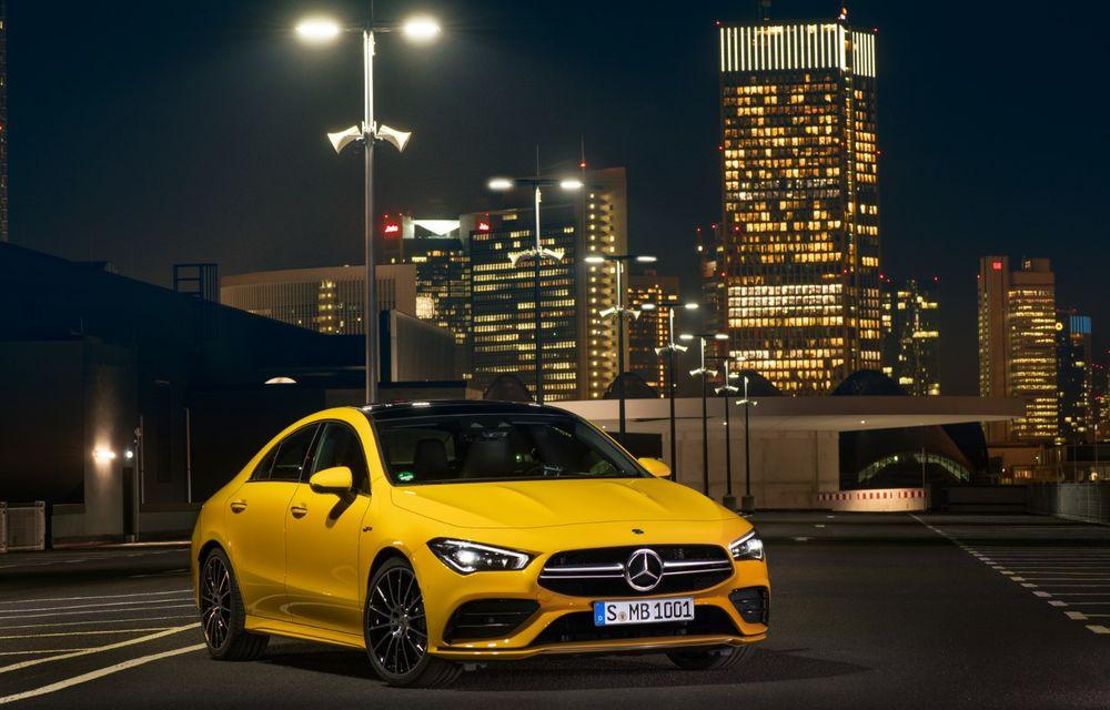 Mercedes a prezentat noul AMG CLA 35: aspect mai agresiv și motor de 2.0 litri cu 306 CP - Poza 3
