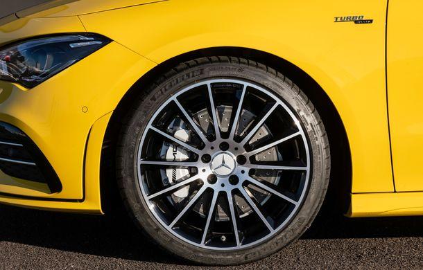 Mercedes a prezentat noul AMG CLA 35: aspect mai agresiv și motor de 2.0 litri cu 306 CP - Poza 23