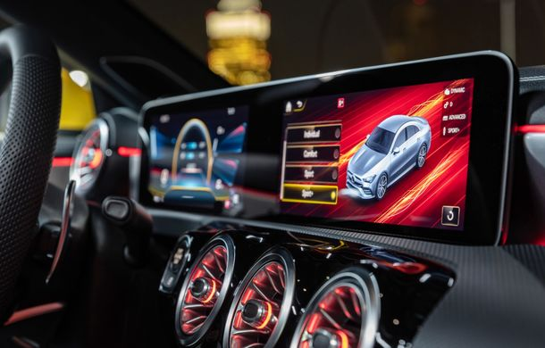 Mercedes a prezentat noul AMG CLA 35: aspect mai agresiv și motor de 2.0 litri cu 306 CP - Poza 31