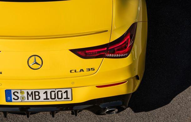Mercedes a prezentat noul AMG CLA 35: aspect mai agresiv și motor de 2.0 litri cu 306 CP - Poza 21