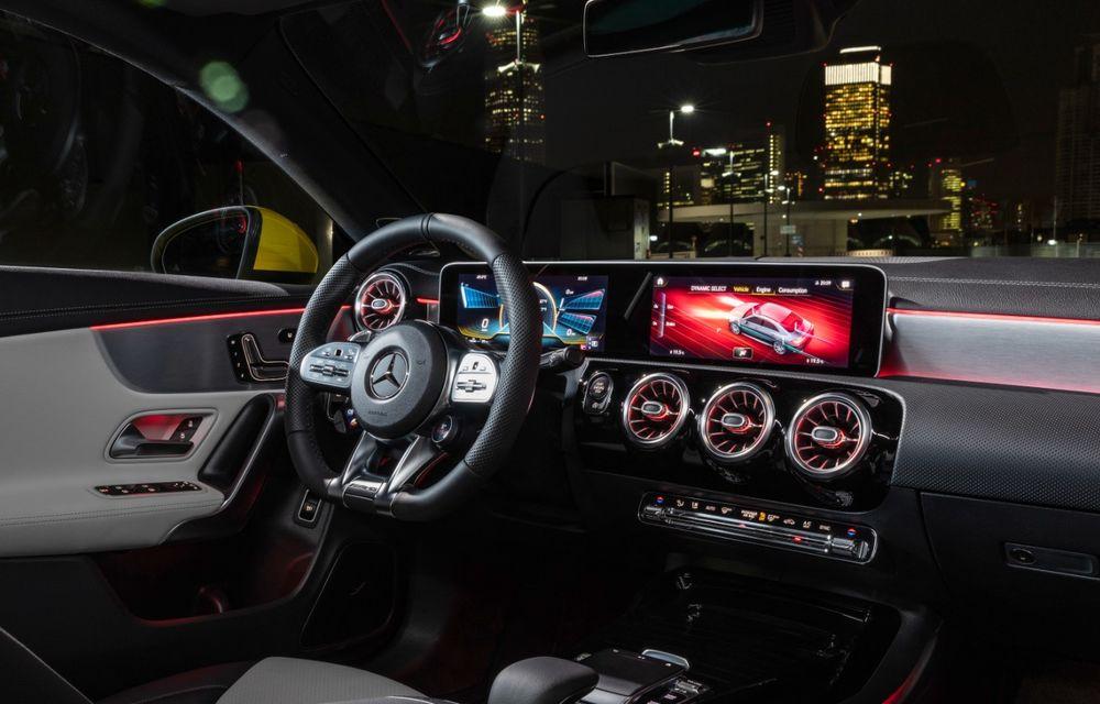 Mercedes a prezentat noul AMG CLA 35: aspect mai agresiv și motor de 2.0 litri cu 306 CP - Poza 29