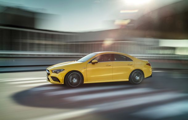 Mercedes a prezentat noul AMG CLA 35: aspect mai agresiv și motor de 2.0 litri cu 306 CP - Poza 7