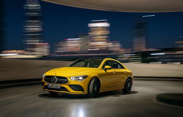 Mercedes a prezentat noul AMG CLA 35: aspect mai agresiv și motor de 2.0 litri cu 306 CP - Poza 5