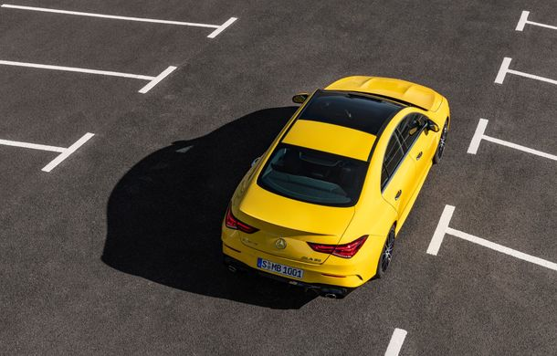 Mercedes a prezentat noul AMG CLA 35: aspect mai agresiv și motor de 2.0 litri cu 306 CP - Poza 16