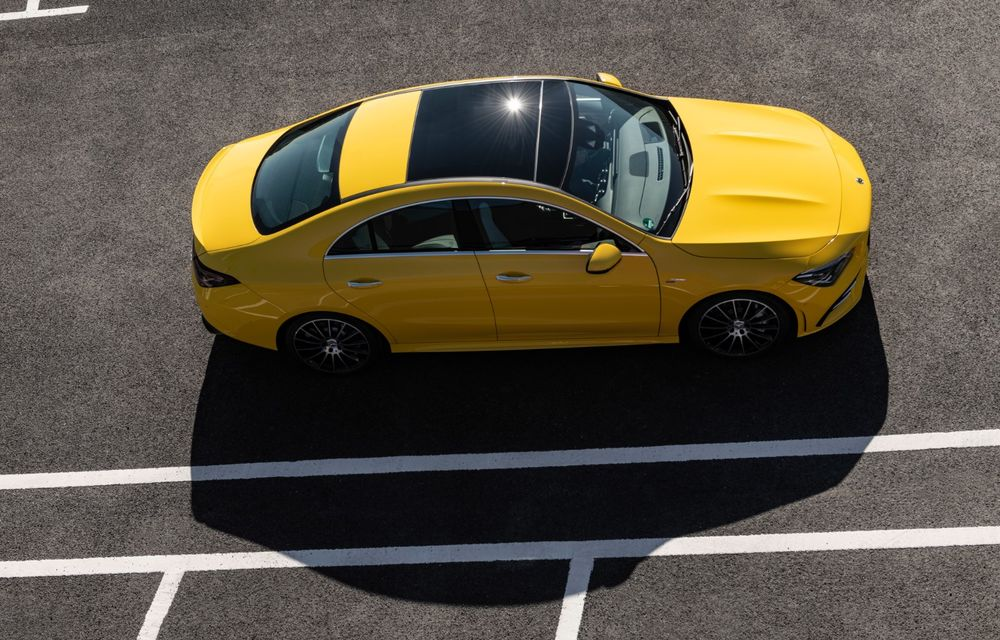 Mercedes a prezentat noul AMG CLA 35: aspect mai agresiv și motor de 2.0 litri cu 306 CP - Poza 13