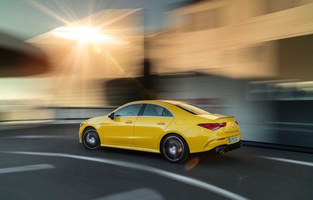 Mercedes a prezentat noul AMG CLA 35: aspect mai agresiv și motor de 2.0 litri cu 306 CP - Poza 10