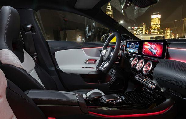 Mercedes a prezentat noul AMG CLA 35: aspect mai agresiv și motor de 2.0 litri cu 306 CP - Poza 28
