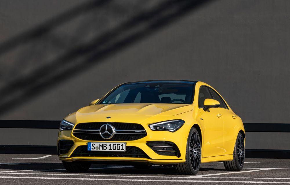 Mercedes a prezentat noul AMG CLA 35: aspect mai agresiv și motor de 2.0 litri cu 306 CP - Poza 2