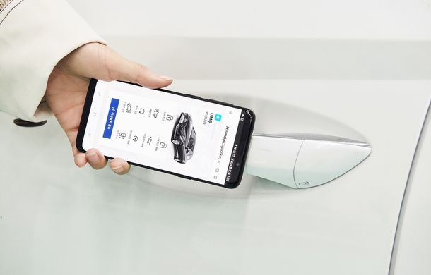 Hyundai prezintă sistemul Digital Key: smartphone-ul se transformă în cheie pentru mașină cu ajutorul tehnologiei NFC - Poza 1