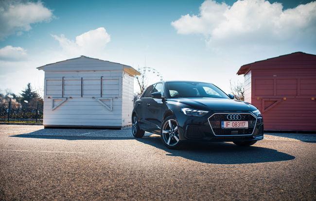 Test drive Audi A1 Sportback