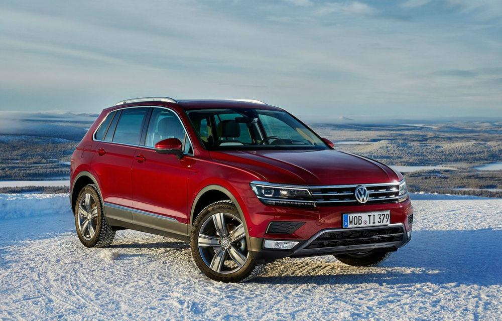 Volkswagen testează Tiguan R: SUV-ul de performanță va prelua motorul de 2.0 litri și 300 CP de la T-Roc R - Poza 1