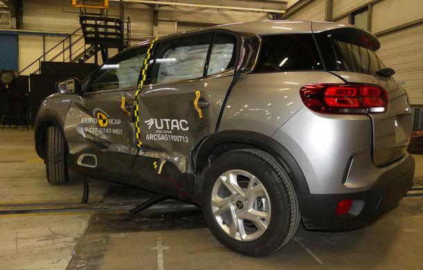 Rezultate noi la testele de siguranță Euro NCAP: 4 stele pentru Citroen C5 Aircross și 5 stele pentru Range Rover Evoque - Poza 4
