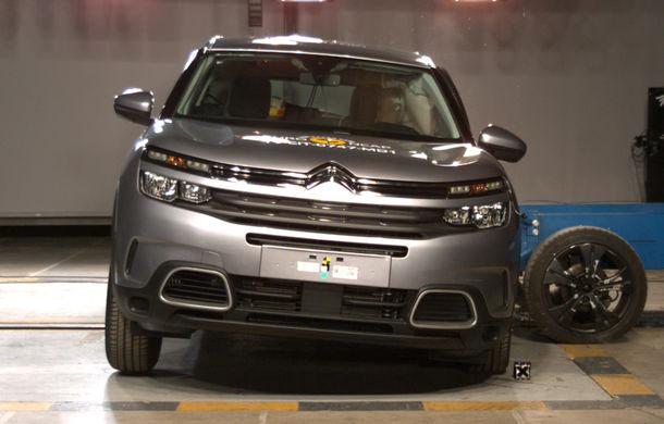 Rezultate noi la testele de siguranță Euro NCAP: 4 stele pentru Citroen C5 Aircross și 5 stele pentru Range Rover Evoque - Poza 5