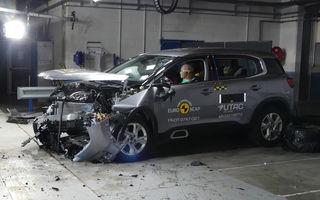 Rezultate noi la testele de siguranță Euro NCAP: 4 stele pentru Citroen C5 Aircross și 5 stele pentru Range Rover Evoque
