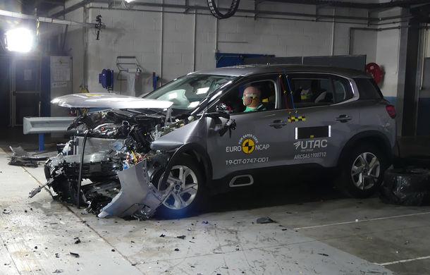 Rezultate noi la testele de siguranță Euro NCAP: 4 stele pentru Citroen C5 Aircross și 5 stele pentru Range Rover Evoque - Poza 1