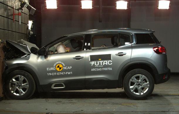 Rezultate noi la testele de siguranță Euro NCAP: 4 stele pentru Citroen C5 Aircross și 5 stele pentru Range Rover Evoque - Poza 7