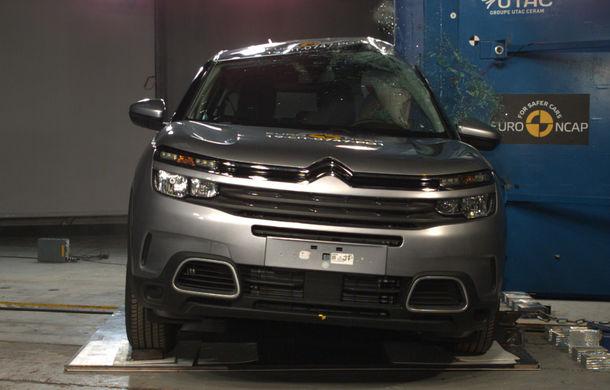 Rezultate noi la testele de siguranță Euro NCAP: 4 stele pentru Citroen C5 Aircross și 5 stele pentru Range Rover Evoque - Poza 3