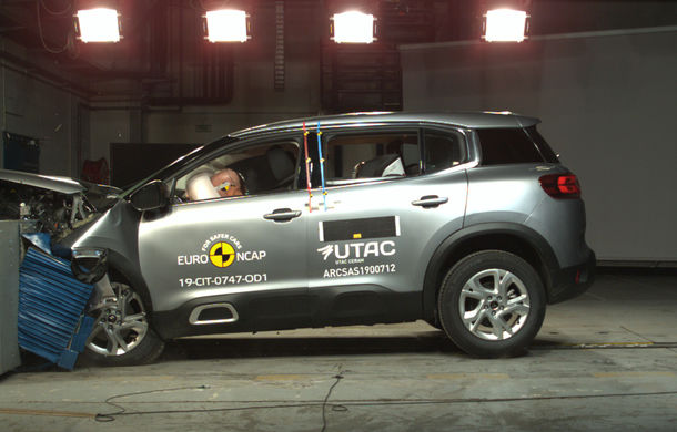 Rezultate noi la testele de siguranță Euro NCAP: 4 stele pentru Citroen C5 Aircross și 5 stele pentru Range Rover Evoque - Poza 8
