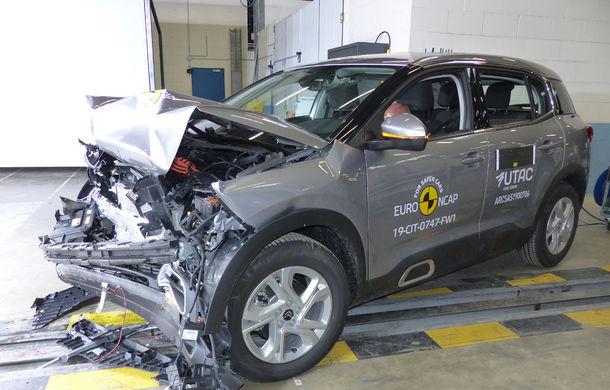 Rezultate noi la testele de siguranță Euro NCAP: 4 stele pentru Citroen C5 Aircross și 5 stele pentru Range Rover Evoque - Poza 6