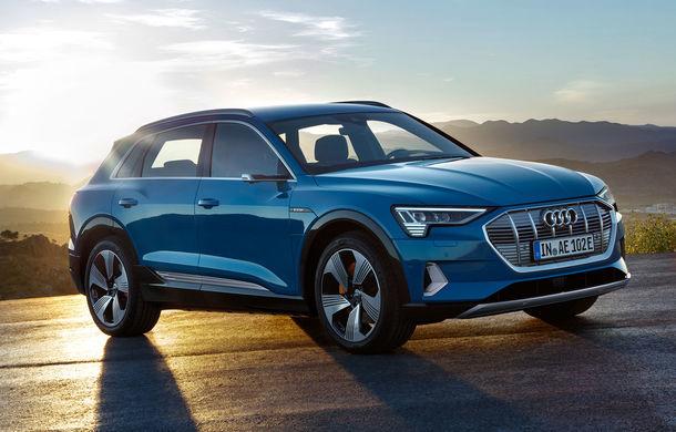 Audi oferă primele detalii despre vânzările lui e-tron: peste 600 de unități în Norvegia și aproape 500 de unități în Germania în martie - Poza 1