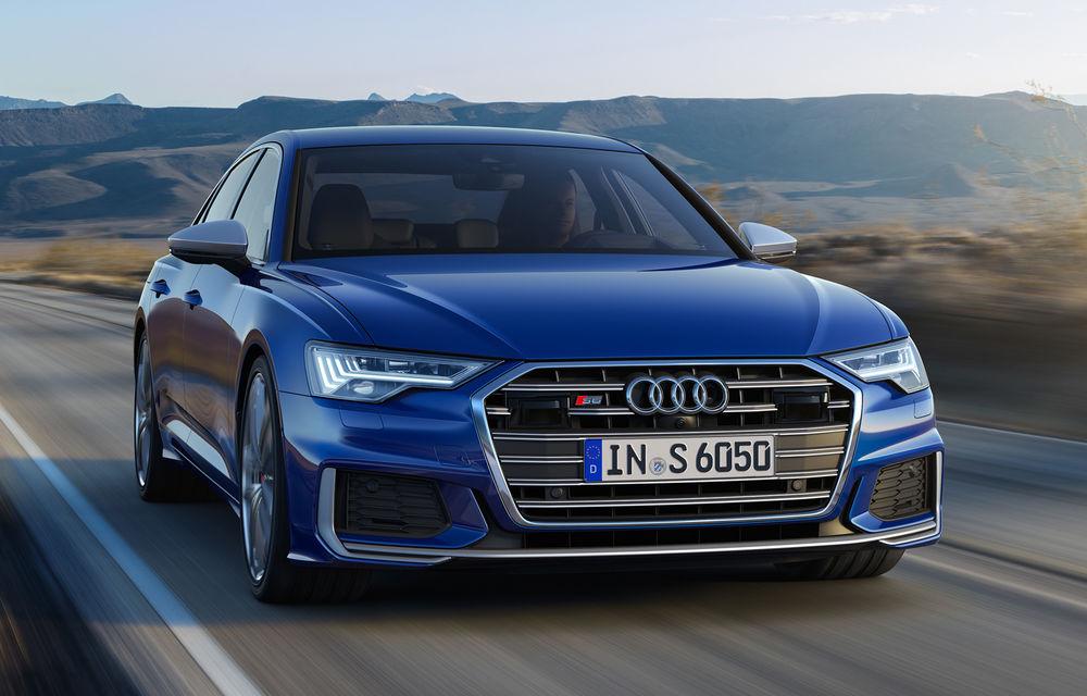 Noile Audi S6 și S7: modelele de performanță preiau motorul diesel de 349 CP și tehnologia mild-hybrid de pe SQ5 - Poza 1