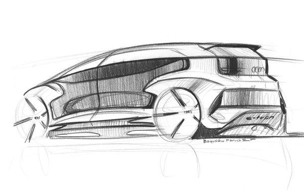 Primul teaser cu conceptul electric și autonom Audi AI:me: prezentarea oficială va avea loc în 15 aprilie - Poza 3
