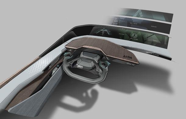 Primul teaser cu conceptul electric și autonom Audi AI:me: prezentarea oficială va avea loc în 15 aprilie - Poza 4