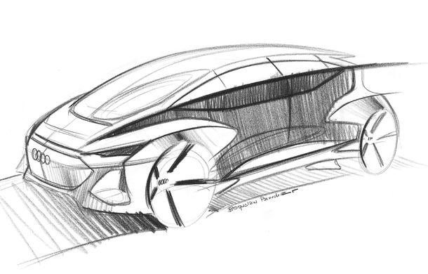 Primul teaser cu conceptul electric și autonom Audi AI:me: prezentarea oficială va avea loc în 15 aprilie - Poza 2