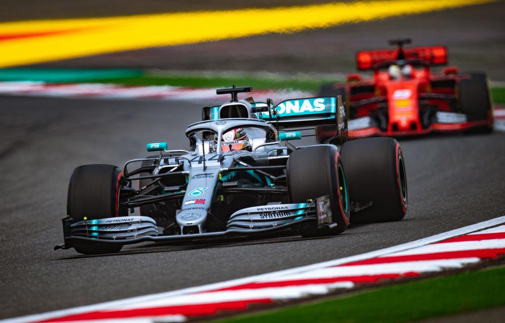 Hamilton a câștigat cursa din China după ce l-a depășit la start pe Bottas! Leclerc, locul 5 după ordine de echipă în favoarea lui Vettel - Poza 1