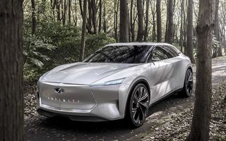 """Infiniti prezintă Qs Inspiration, concept care anunță un sedan """"revoluționar"""": poziție înaltă la volan și sistem de propulsie electrificat cu tracțiune integrală"""