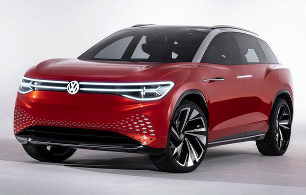 Volkswagen a prezentat noul concept ID Roomzz: SUV-ul electric cu șapte locuri dezvoltă 306 CP și promite o autonomie de până la 450 de kilometri - Poza 1