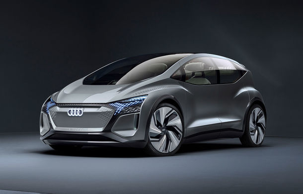 Audi a prezentat AI:ME, conceptul care anunță un viitor hatchback compact: prototipul electric oferă 170 CP și dispune de o baterie de 65 kWh - Poza 1