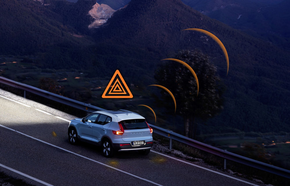 Volvo lansează în Europa două sisteme care trimit avertizări în timp real despre accidente și condițiile de drum: mașinile vor comunica între ele - Poza 4
