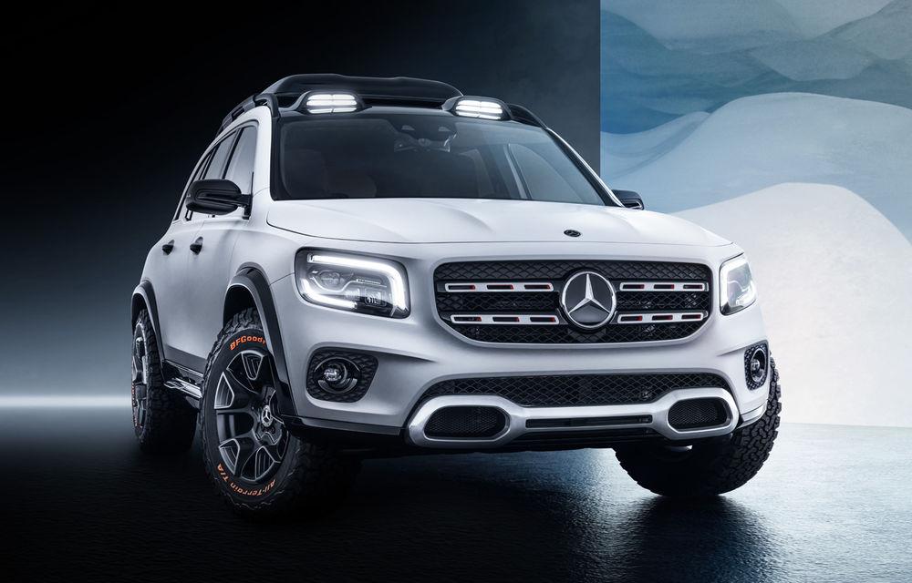 Mercedes-Benz GLB Concept: noul SUV cu 7 locuri are 224 de cai putere și va primi în curând o versiune de serie - Poza 1