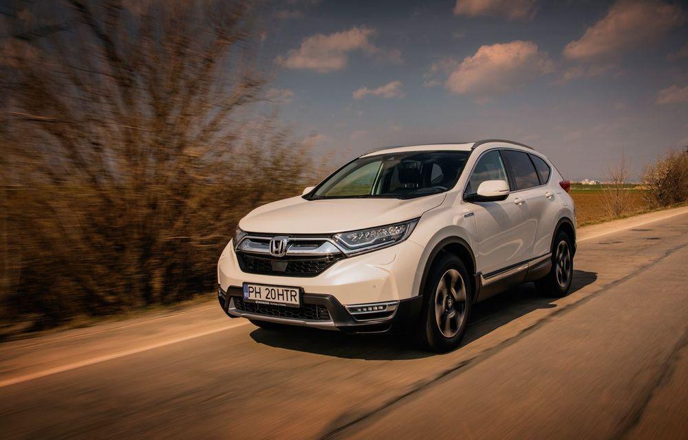 Honda CR-V hibrid vs. Honda CR-V benzină, episodul 2: hibrid sau benzină în afara orașului? - Poza 15