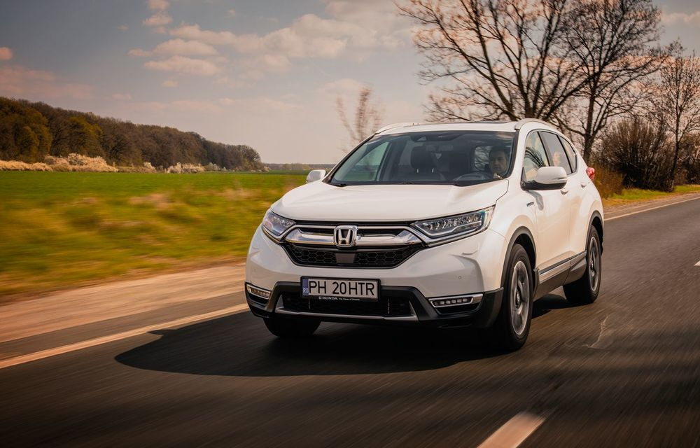 Honda CR-V hibrid vs. Honda CR-V benzină, episodul 2: hibrid sau benzină în afara orașului? - Poza 10