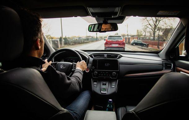 Honda CR-V hibrid vs. Honda CR-V benzină, episodul 2: hibrid sau benzină în afara orașului? - Poza 16