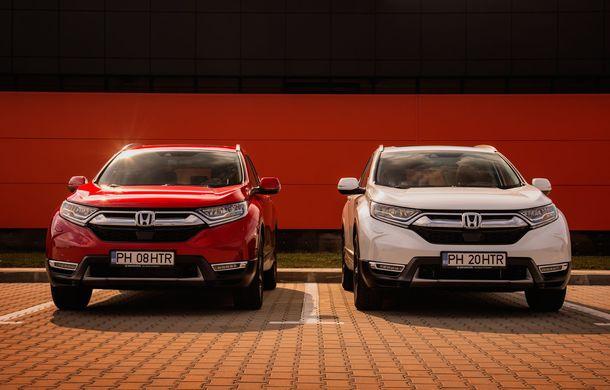 Honda CR-V hibrid vs. Honda CR-V benzină, episodul 2: hibrid sau benzină în afara orașului? - Poza 22