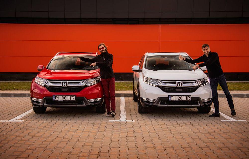 Honda CR-V hibrid vs. Honda CR-V benzină, episodul 2: hibrid sau benzină în afara orașului? - Poza 27