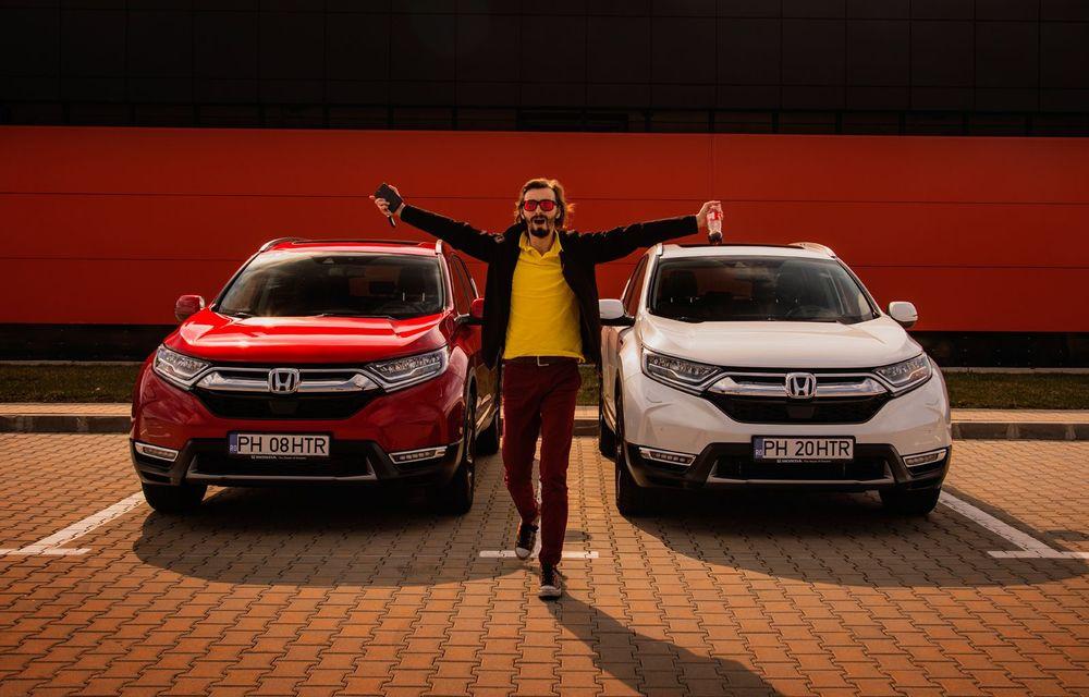 Honda CR-V hibrid vs. Honda CR-V benzină, episodul 2: hibrid sau benzină în afara orașului? - Poza 21