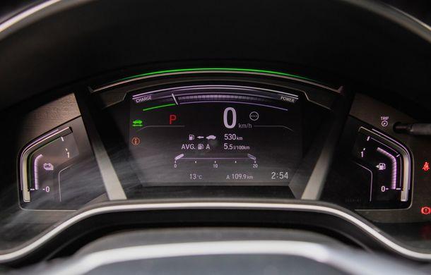 Honda CR-V hibrid vs. Honda CR-V benzină, episodul 2: hibrid sau benzină în afara orașului? - Poza 25