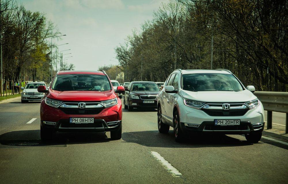 Honda CR-V hibrid vs. Honda CR-V benzină, episodul 2: hibrid sau benzină în afara orașului? - Poza 2