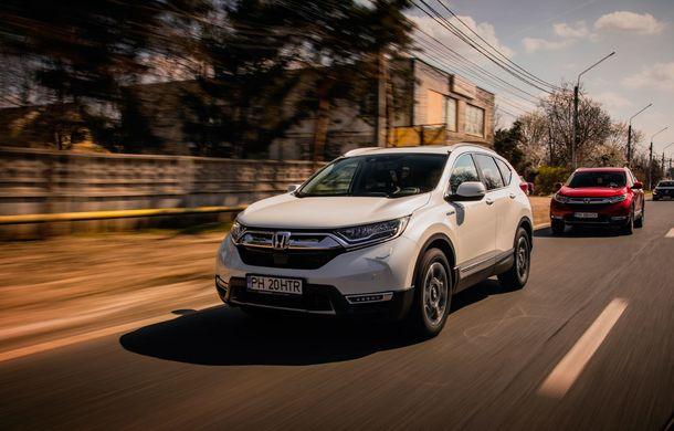 Honda CR-V hibrid vs. Honda CR-V benzină, episodul 2: hibrid sau benzină în afara orașului? - Poza 6