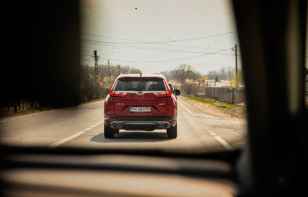 Honda CR-V hibrid vs. Honda CR-V benzină, episodul 2: hibrid sau benzină în afara orașului? - Poza 19