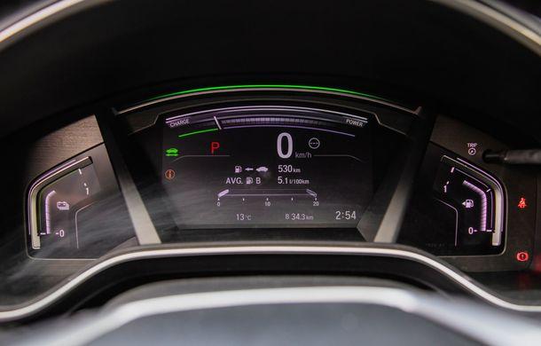 Honda CR-V hibrid vs. Honda CR-V benzină, episodul 2: hibrid sau benzină în afara orașului? - Poza 26